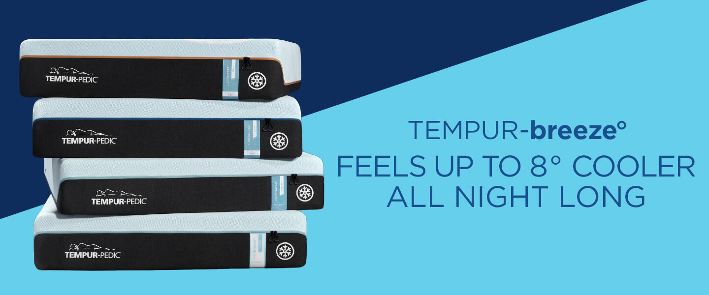 Tempur-breeze Feels up to 8 degree cooler all night long